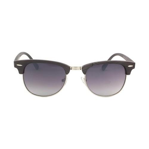 Montres & Bijoux Homme Lunettes de soleil Eye Wear Lunettes de soleil Bois Gris foncé Goeth Gris