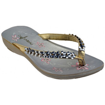 Chaussures Femme Tongs Inblu SY7 Strass Tongs