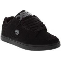 Chaussures Homme Chaussures de Skate Osiris SCRIPT black black charcoal Noir