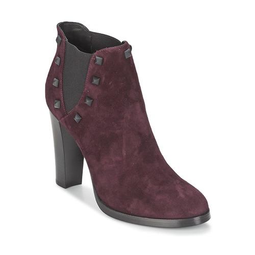 Bottines / Boots Alberto Gozzi CAMOSCIO NEIVE Bordeaux 350x350