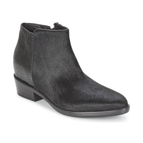 Chaussures Femme Boots Alberto Gozzi PONY NERO Noir