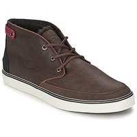 Chaussures Homme Baskets montantes Lacoste CLAVEL 17 Marron