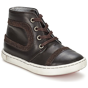 Chaussures Garçon Boots Tartine Et Chocolat JR URBAIN Chocolat