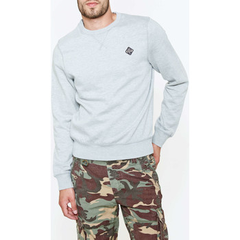 Vêtements Homme Sweats Schott Sweat Shirt  Swfalcon100 Gris Clair Homme Gris