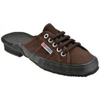 Chaussures Femme Sabots Superga 2783OuvrirSabot Marron