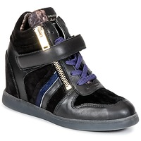 Chaussures Femme Baskets montantes Serafini LEXINGTON Noir