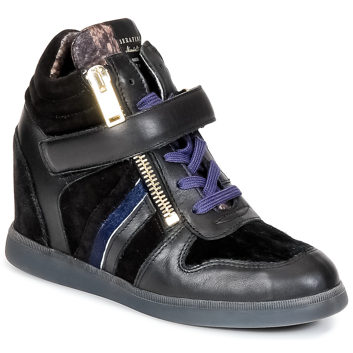 Basket montante Serafini LEXINGTON Noir