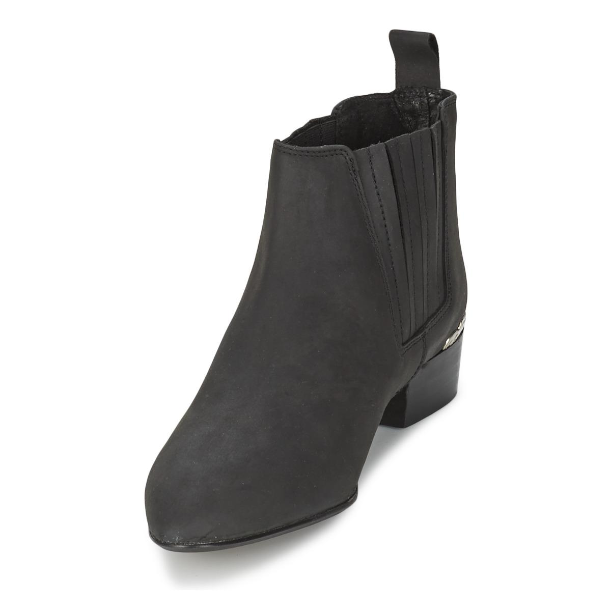 Kg By Kurt Geiger Slade Noir - Livraison Gratuite Chaussures Boot Femme 122,50 €