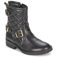 Chaussures Fille Boots Hip RAVUTE Noir
