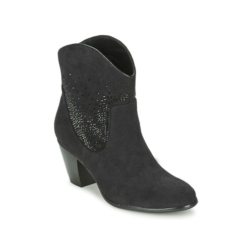Chaussures Femme Bottines Moony Mood ELSE Noir