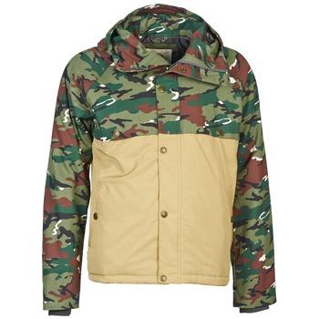 Vêtements Homme Blousons Franklin & Marshall JKMVA034 Kaki / Beige