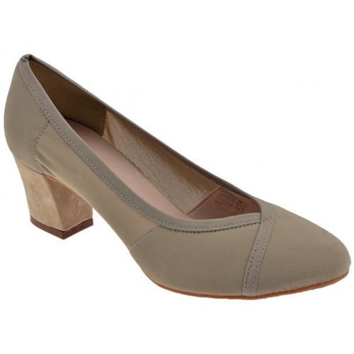Chaussures Femme Escarpins Keys ChaussureélastiquedelaCourdetalon50estEscarpins Gris