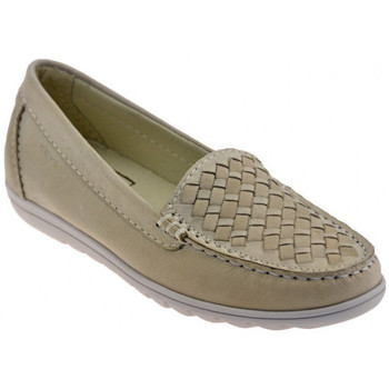 Chaussures Femme Mocassins Keys 4537 Flexe Fly Mocassins Beige