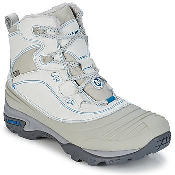 Chaussures-de-randonnee Merrell SNOWBOUND MID WTPF Gris 350x350