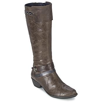 Chaussures Femme Bottes ville Dorking NINA Gris