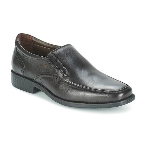 Chaussures Homme Mocassins Fluchos RAPHAEL Noir