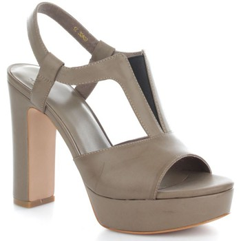 Chaussures Femme Sandales et Nu-pieds Luciano Barachini 6040C Sandales Femme Pietra Pietra