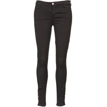 Vêtements Femme Jeans slim Acquaverde ALFIE Noir