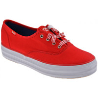 Chaussures Femme Baskets basses Keds Sport Triple bas Baskets basses rouge