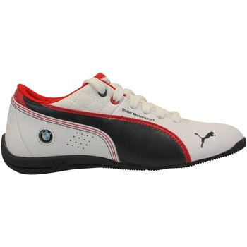 Chaussures Garçon Football Puma Drift Cat 6 L BMW Jr Blanc