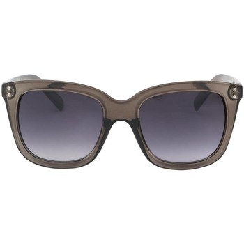 Montres & Bijoux Femme Lunettes de soleil Eye Wear Lunettes de soleil Femme Transparente Marron Olya Marron