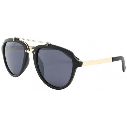 Lunettes de soleil Eye Wear Lunettes de soleil Aviateur Tendance Noir Mat Ponza Noir 350x350