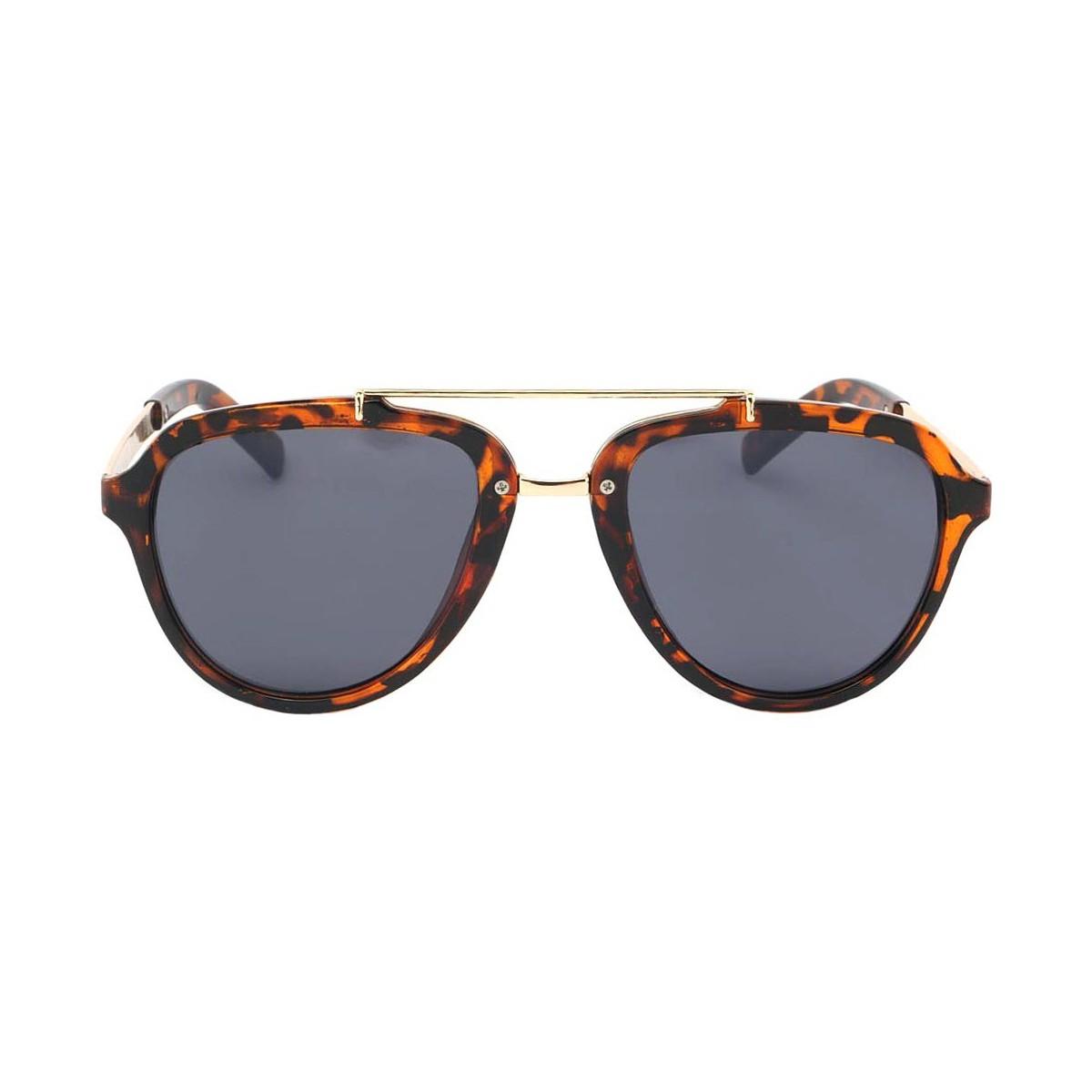 Eye Wear Lunettes de soleil Aviateur Vintage Marron Ponza Marron