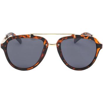 Lunettes de soleil Eye Wear Lunettes de soleil Aviateur Vintage Marron Ponza Marron 350x350