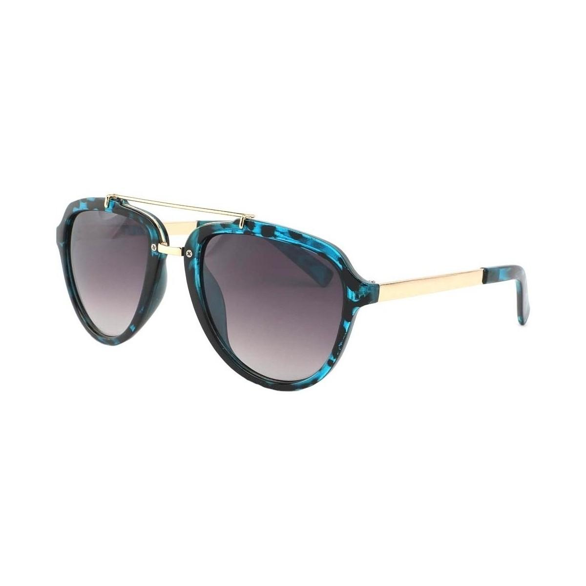 Eye Wear Lunettes de soleil Aviateur Bleu Ponza Bleu