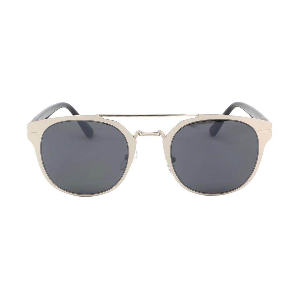 Eye Wear Lunettes de soleil Classique Argent Noir Sturno Gris