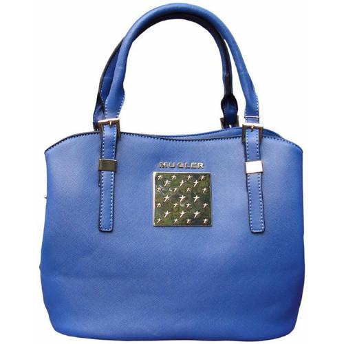 Sacs Femme Sacs porté main Thierry Mugler Sac  Eclat 3 Bleu Bleu