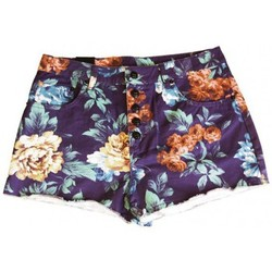 Vêtements Femme Shorts / Bermudas Insight Short  Floral High Roller - Floral Bleu