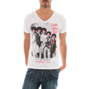 Vêtements Homme T-shirts manches courtes Ritchie T-SHIRT MACKSON Blanc
