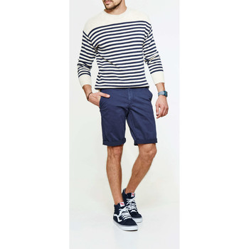 Vêtements Homme Shorts / Bermudas Franklin & Marshall Short Chino  Bleu Homme Bleu