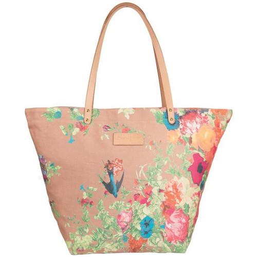 Sacs Femme Cabas / Sacs shopping Christian Lacroix Sac shopping  Eden 1 Fleur Taupe Noir