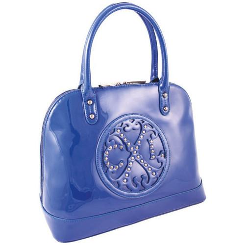 Sacs Femme Sacs porté main Christian Lacroix Sac  Jonc Stud 8 Bleu Royal Bleu