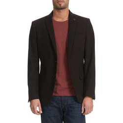 Vestes / Blazers Selected Blazer  One Creed Anthracite Homme
