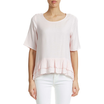 T-shirts manches courtes Vero Moda Top  Vmcharlie Rose Poudre Femme