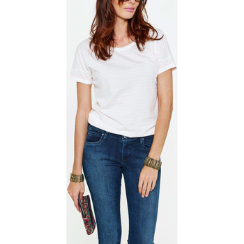 Vêtements Femme T-shirts manches courtes Vero Moda Tee Shirt  Vmmally Rose Poudre Femme Rose