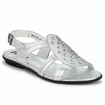 Chaussures Femme Sandales et Nu-pieds Fidji BARRETA Silver