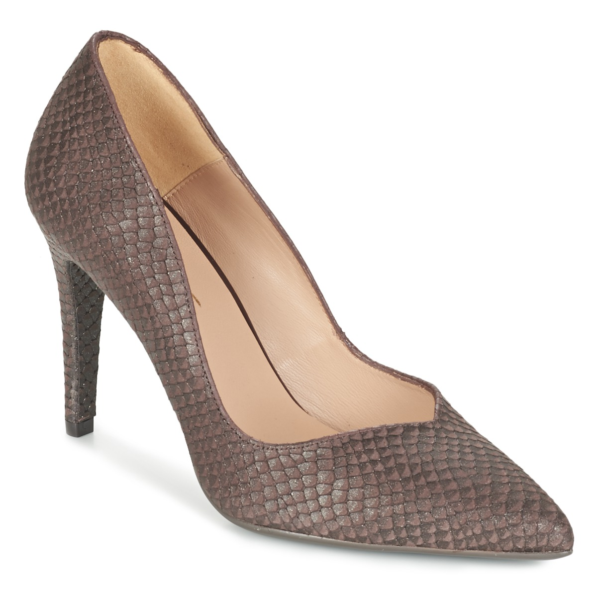 Escarpins Betty London FOZETTE Marron