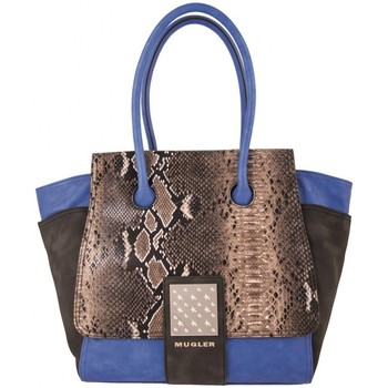 Sacs Femme Sacs porté main Thierry Mugler Sac  Amazone 1 Bleu 19