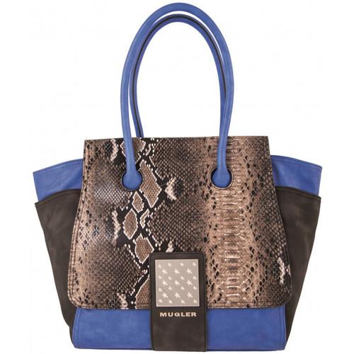 Sacs Femme Sacs porté main Thierry Mugler Sac  Amazone 1 Bleu Bleu