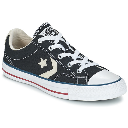 Converse baskets mode  star player ox noir noir - Chaussures Basket Homme
