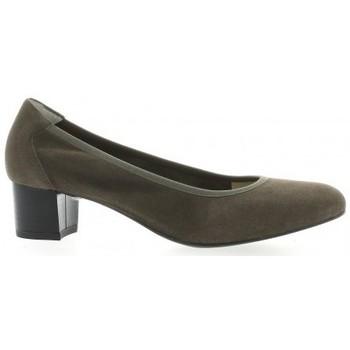 Chaussures Femme Escarpins Brenda Zaro Ballerines cuir velours Taupe