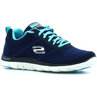 Chaussures Femme Sport Indoor Skechers Flex Appeal Simply Sweet Marine