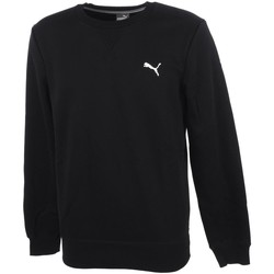 Vêtements Homme Sweats Puma Ess crew sweat fl black Noir