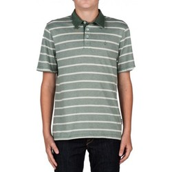 Polos manches courtes Volcom Polo  Wowzer Stripe - Forest