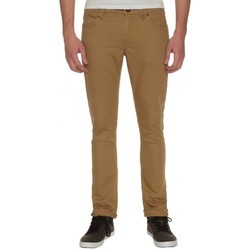 Vêtements Garçon Chinos / Carrots Volcom Pantalon  2X4 By 5 Pocket Twll - Dark Khaki Autres
