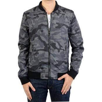 Vêtements Homme Blousons Ryujee Blouson  Clive 04 Camouflage Vert